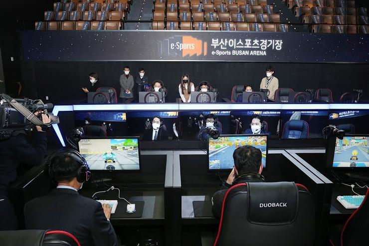 10-1 행정문화위 이스포츠 경기장 현장점검